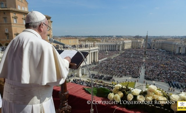 """02/05/2016 -El domingo 1 de mayo Francisco recordó la promesa de Jesús a los Apóstoles: el don del Espíritu Santo, """"que tendrá la tarea de enseñar y de recordar sus palabras a…"""