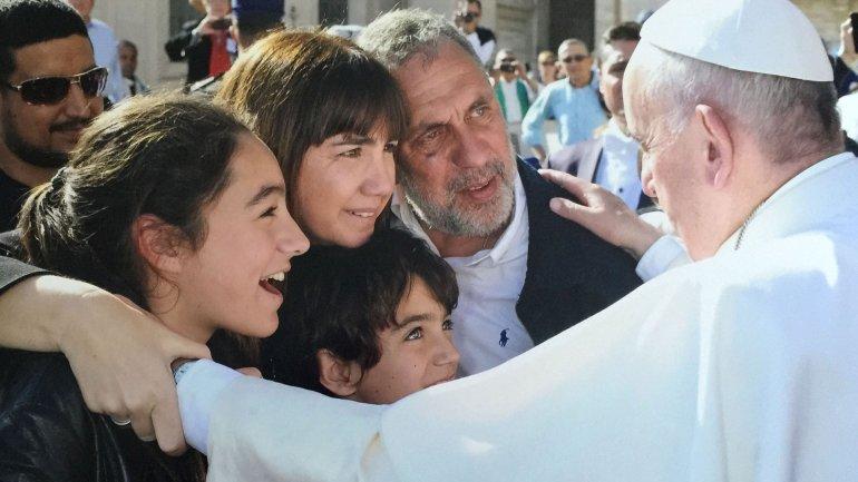 Resultado de imagen para PAPA FRANCISCO FAMILIA