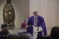 29/11/2016 – El Papa Francisco en su homilía de ésta mañana dijo que el Señor revela el Misterio de la Salvación a los…