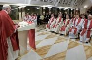 24/11/2016 – En su homilía de la misa en Santa Marta el Papa Francisco afirmóque la corrupción es una forma de blasfemia, a…