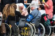 """31/11/2016 – El Papa Francisco, en sus audiencias generales, concluyó el ciclo de las catequesis sobre la misericordiaseñalando que""""las catequesis terminan, pero la…"""