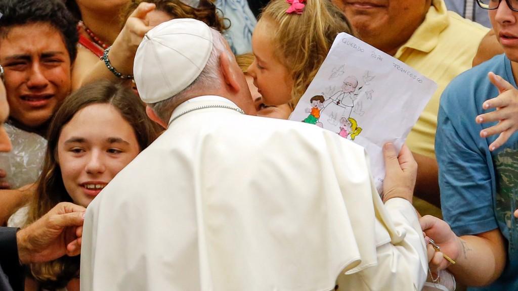 Papa Fran dibujo