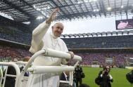 07/03/2017 – El Papa Francisco celebró la Eucaristía en una catedral a cielo abierto, con los fieles de la diócesis de Milán en…