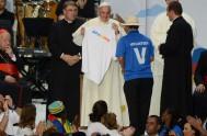 21/03/2017 – Como preparación para la próxima JJMJ en Panamá en el 2019, el Papa Francisco se comunicó con los jóvenes del mundo…