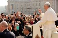 19/04/2017 – En la Audiencia General de hoy el Papa Francisco continuó con sus catequesis sobre la esperanza centrando su mirada en Cristo…