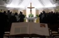 """16/06/2017 – ¿Cuál fue la exhortación de nuestro Papa Francisco en su homilía de hoy en Santa Marta? Tener """"conciencia"""" de que somos…"""