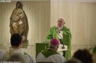 09/06/2017 - Compartimos las palabras del Papa Francisco en su homilía de hoy en la capilla de la casa Santa Marta, donde dijo…