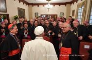 08/09/2017 – El Papa Francisco mientras se encuentra de viaje apostólico en Colombia aprovechó para reunirse con la Comisión Ejecutiva del Celam (…