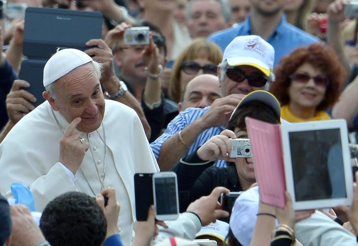 Papa francisco simpatico