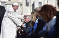"""31/01/2018 – En la Audiencia General de hoy, el Papa Francisco dijo que """"Después de haber dedicado varias catequesis a los Ritos Introductorios…"""