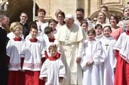 25/04/2018 – En la audiencia general de hoy, el Papa Francisco animó a los fieles cristianos que combaten cada día contra el mal…