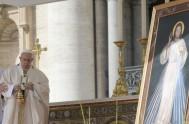 09/04/2018 –El Papa Francisco presidió la Santa Misa del II Domingo de Pascua, Domingo de la Divina Misericordia y luego compartió el rezo…