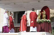 29/06/2018 – El Papa Francisco en su homilía en la celebración Eucarística con la Bendición de los Palios para los nuevos Arzobispos Metropolitanos,…