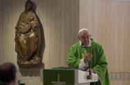 19/06/2018 – En la homilía en la casa Santa Marta el Papa Francisco reflexionó sobre el perdón, la oración, el amor por quien…