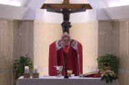 07/06/2018 – El Papa Francisco basó la homilía de la Misa, celebrada en la Casa Santa Marta, en la exhortación de San Pablo…