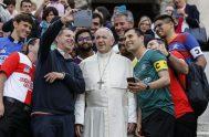 06/06/2018 – El Papa Francisco presidió la tradicional Audiencia General en la plaza de san Pedro, y prosiguió con su catequesis sobre el…
