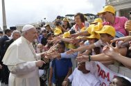 13/06/2018 – El Papa Francisco inició un nuevo ciclo de catequesis, sobre el tema de los mandamientos, para ver cada uno de ellos…