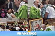 16/07/2018 – El papa Francisco celebró, en labasílica de San Pedro, una misa emblemática por los emigrantes y refugiados en un momento delicado…