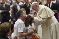 01/08/2018 – El Papa Francisco reanudó sus Audiencias Generales en el Aula Pablo VI del Vaticano, hoy, en el día dela memoria de…