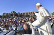 14/08/2018 – El sábado 11 de agosto el Papa Francisco tuvo un encuentro concerca de 70.000 chicos y chicas italianos, a modo de…