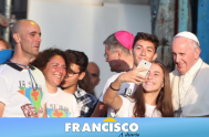 24/09/18 –En el marco del homenaje al beato padre Giuseppe Puglisi, en Palermo, el Papa Francisco se encontró con ciento de Jóvenes sicilianos…