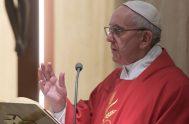 30/11/2018 – En la misa celebrada en la casa Santa Marta, el Papa Francisco nos invitó a imitar a los apóstoles Pedro, Andrés,…