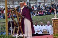 02/11/2018 – El Papa Francisco celebró la Santa Misa en el cementerio Laurentino de Roma, como motivo de laconmemoración de todos los Fieles…