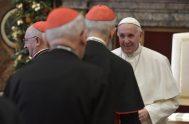 21/12/2018 – Esta mañana, en su tradicional alocución a la Curia romana, el Papa recuerda el tema de los escándalos en la Iglesia,…