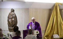 18/12/2018 – En la capilla de Santa Marta, el Pontífice celebró la Misa y habló de la…