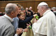 12/12/2018 -En la catequesis durante la Audiencia General del miércoles 12 de diciembre de 2018, el Papa Francisco continuó con la reflexión sobre…