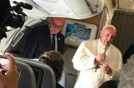 24-01/2019 – Fue durante una rueda de prensa que el Papa Francisco ofreció a los periodistas de todo el mundo que lo acompañaron…