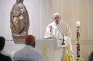 31/01/2019 – En el día en que la Iglesia celebra a San Juan Bosco, el Papa basó sobre su figura la homilía de…