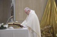08/01/2019 – En su homilía de hoy en Casa Santa Marta, el Papa Francisco comentó el evangelio de la multiplicación de los panes.…