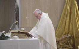 08/01/2019 – En su homilía de hoy en Casa Santa Marta, el Papa Francisco comentó el evangelio de la multiplicación…
