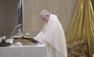 08/01/2019 – En su homilía de hoy en Casa Santa Marta, el Papa Francisco comentó el evangelio…