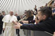 30/01/2019 –Durante la audiencia general, celebrada en el Aula Pablo VI ante la presencia de miles de fieles, el Pontífice se refirió a…