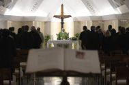 19/02/2019 – Durante la Misa celebrada este martes 19 de febrero en la Casa Santa Marta, el Papa Francisco aseguró que Dios tiene…
