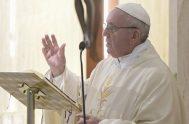01/02/2019 – En la capilla de la Casa Santa Marta, el Papa Francisco celebra la Misa diaria y comenta la primera lectura de…