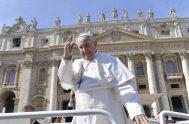 """27/02/2019 – """"Santificado sea tu nombre"""", una de las primeras súplicas del Padre Nuestro fue el tema de la Audiencia General del Papa…"""