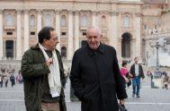 """13/03/2019 - A 6 años del """"Habemus Papam"""" que anunció al mundo la elección del primer Papa Argentino queremos recordar un hecho curioso…"""