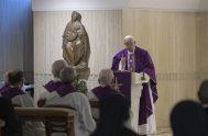 18/03/2019 – Durante la Misa celebrada este lunes 18 de marzo en la Casa Santa Marta, el Papa Francisco animó en esta Cuaresma…