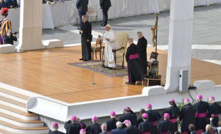 20/03/2019 – «Hágase tu voluntad», la tercera invocación del Padre Nuestro fue el tema de la catequesis del Papa Francisco en la Audiencia General del miércoles 20 de marzo. El Pontífice señaló…