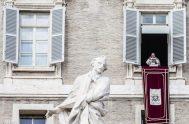 08/04/2019 – Durante el rezo del Ángelus desde el Palacio Apostólico del Vaticano en este V domingo de Cuaresma, el Papa Francisco explicó…