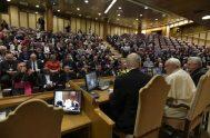 12/04/2019 – El Papa francisco pronunció un breve pero contundente discurso para clausurar un encuentro sobre trata de personas y esclavitud moderna que…