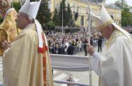 06/05/2019 – El Papa Francisco celebró la eucaristía en la Plaza Knyaz Alexander I, situada en el centro de la capital búlgara. En…