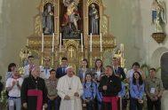 06/05/2019 – Tras el almuerzo con obispos de Bulgaria en el convento de las Hermanas franciscanas de Rakovsky, el Papa Francisco mantuvo un…