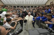 24/05/2019 – Durante un discurso ante miles de personas y con la presencia de reconocidos atletas y ex atletas, el Papa Francisco pidió…
