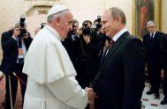 07/06/2019 - El Presidente de la Federación Rusa,Vladimir Putin se verá con el Papa Francisco el próximo 4 de julio. La primera vez…