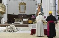 17/06/2019 –El Papa Francisco visitó a algunas familias de Camerino, una pequeña localidad de 7.000 habitantes del centro-norte de la península itálica, que…