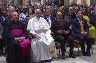 28/06/2019 –Durante una audiencia en la Sala Regia del Vaticano, el Papa Francisco pidió a los miembros de la Organización de las…